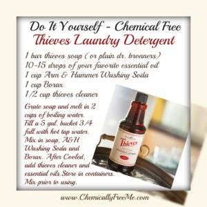 Diy Chemically Free Thieves Laundry Detergent